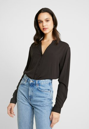 Blouse - black solid