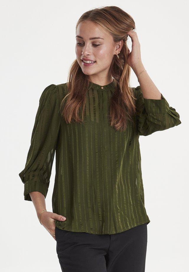 IXDONNA - Button-down blouse - duffel bag