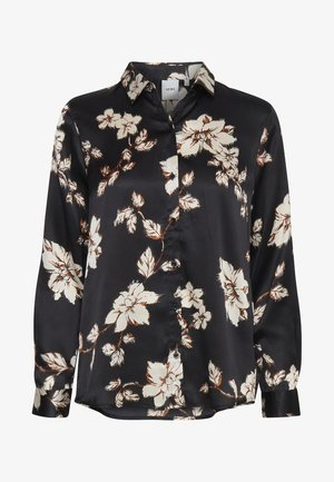 IHCLAUDIO - Button-down blouse - black
