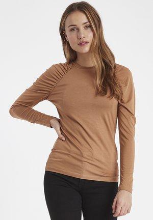 IXJENNA  - Long sleeved top - light brown
