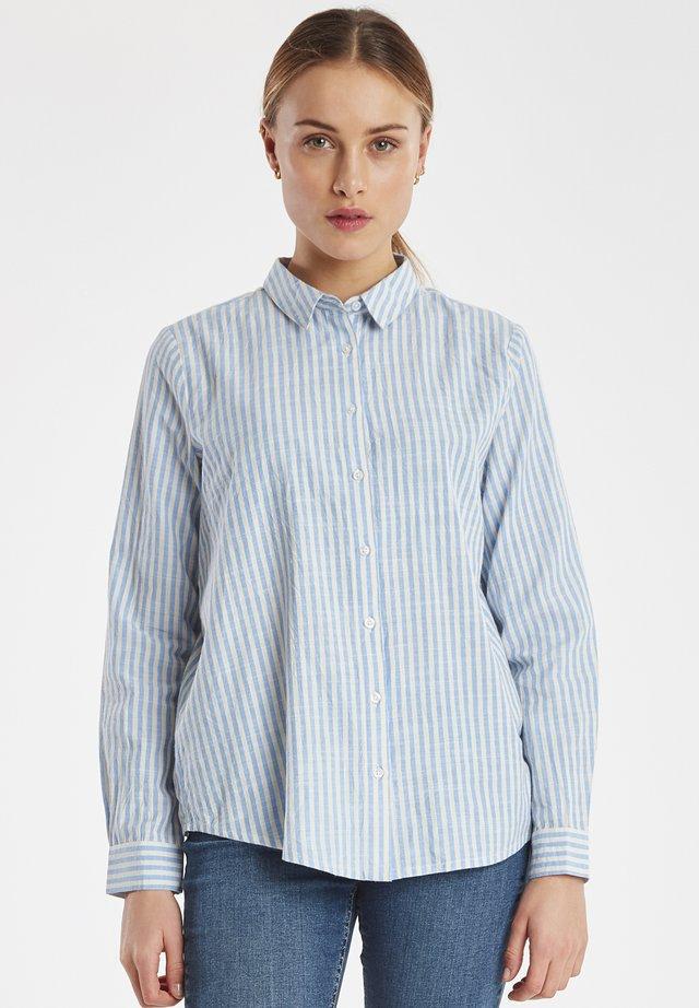 IHTULLE SH - Button-down blouse - della robbia blue