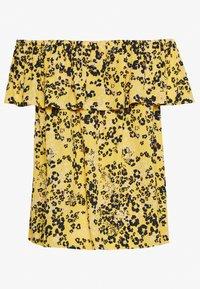 ICHI - MARRAKECH  - Bluser - yellow/black - 1