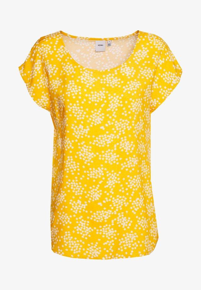 IHVERA - Blůza - golden yellow