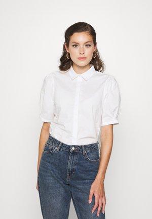 IHLESLIA  - Button-down blouse - cloud dancer
