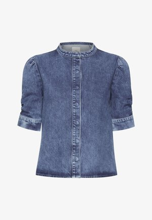 Blusa - medium blue
