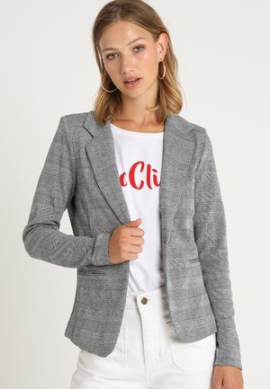 KATE CHECK - Blazer - black