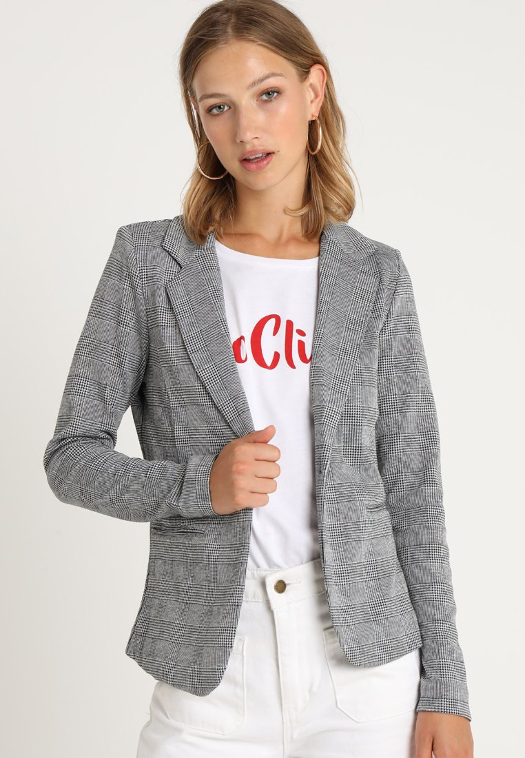 ICHI - KATE CHECK - Blazer - black