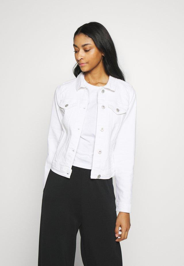 IHGUSTO - Kurtka jeansowa - white