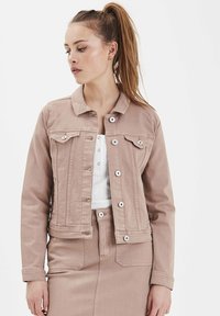 ICHI - IHGUSTO - Denim jacket - sand - 0