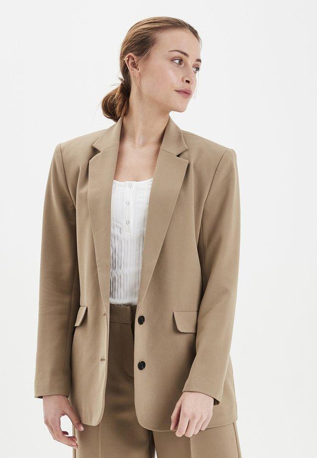 IXBLAIR - Krótki płaszcz - coriander