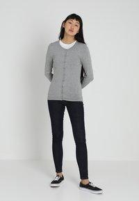 ICHI - MAFA - Cardigan - grey melange - 1