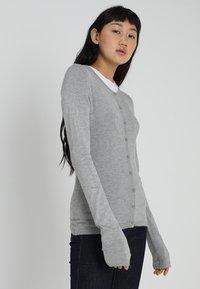 ICHI - MAFA - Cardigan - grey melange - 0