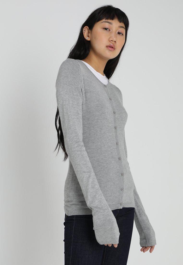ICHI - MAFA - Cardigan - grey melange