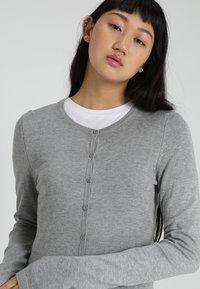 ICHI - MAFA - Cardigan - grey melange - 3