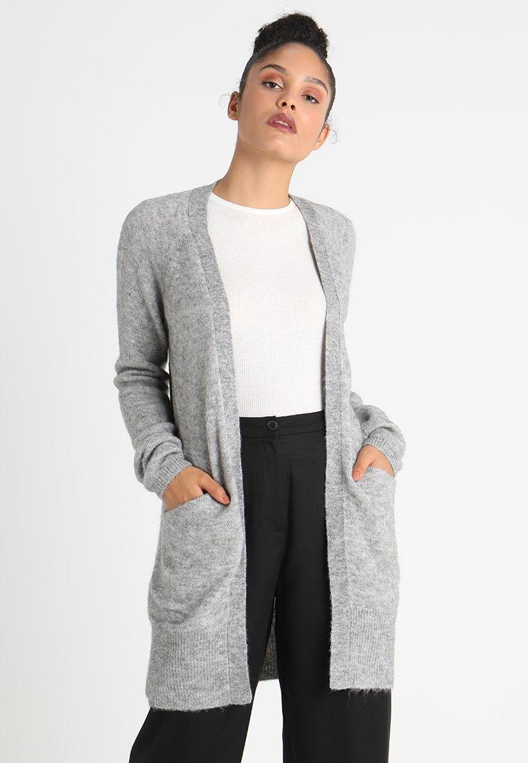 ICHI - AMARA CARDIGAN - Cardigan - grey melange