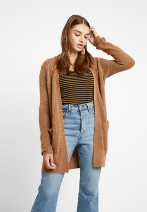 AMARA CARDIGAN - Cardigan - brown sugar