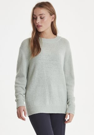 IHSINKJA  - Strikpullover /Striktrøjer - aqua grey