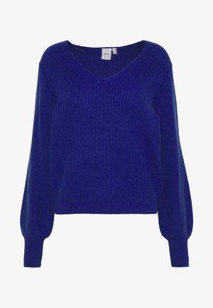 Jersey de punto - clematis blue