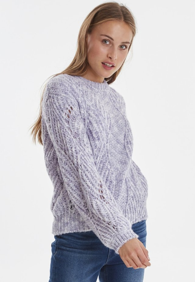 IHGINGER LS - Jumper - purple