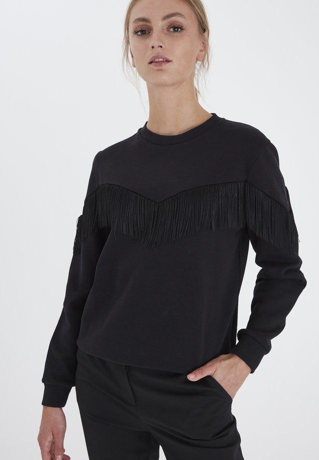 IHZINKA  - Sweatshirts - black
