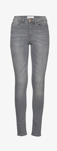 ICHI - ERIN IZARO - Jeans Skinny Fit - light grey - 5