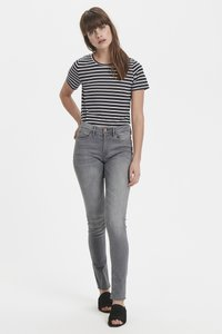 ICHI - ERIN IZARO - Jeans Skinny Fit - light grey - 2