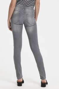 ICHI - ERIN IZARO - Jeans Skinny Fit - light grey - 3