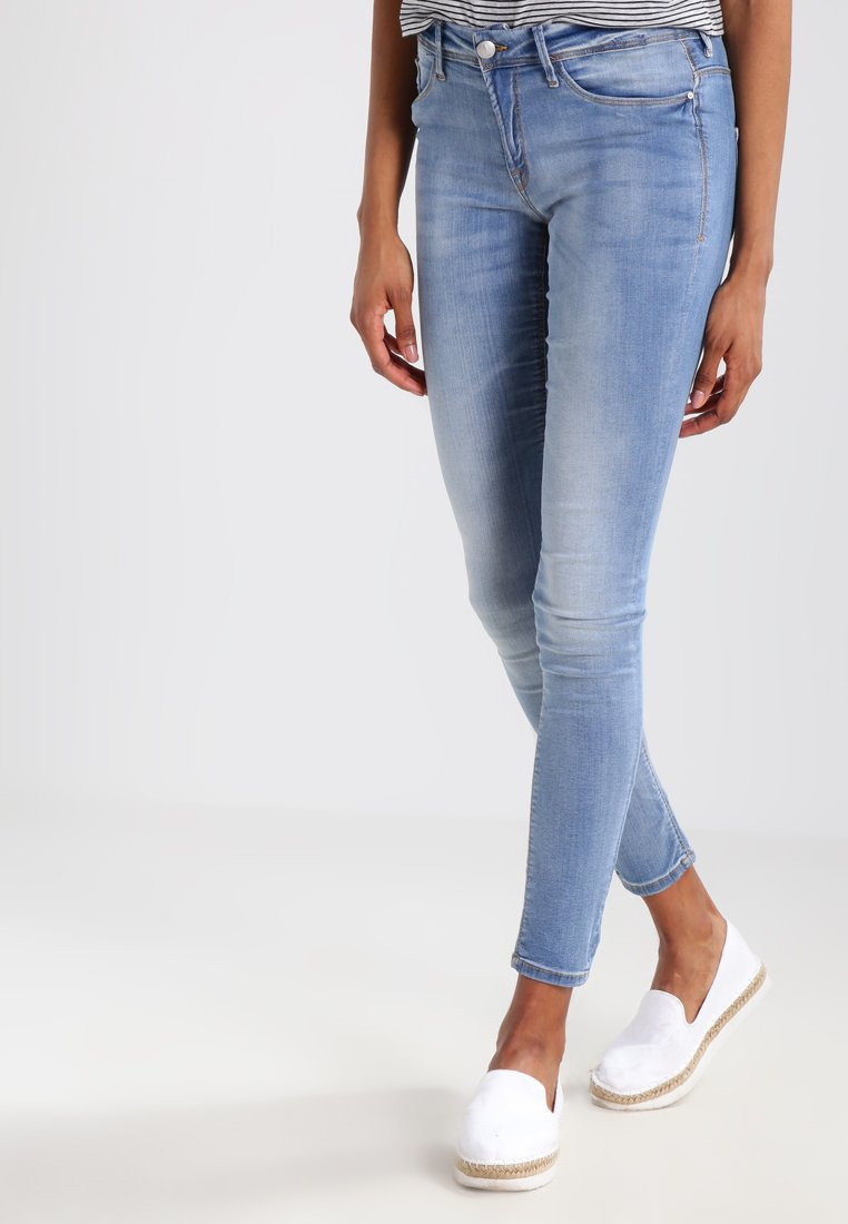 ICHI - ERIN - Jeans Skinny Fit - bleached light blue