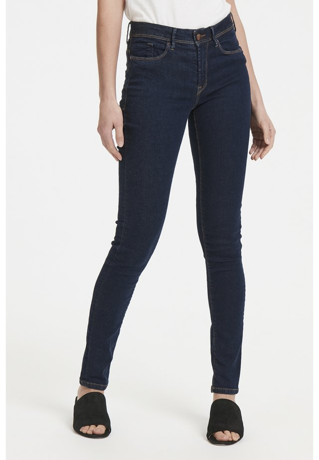 ERIN IZARO DARK - Slim fit jeans - dark blue