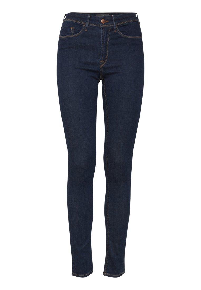 ICHI ERIN IZARO DARK - Jeans slim fit - dark blue aKmHKrhg