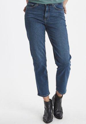 RAVEN - Straight leg jeans - medium blue
