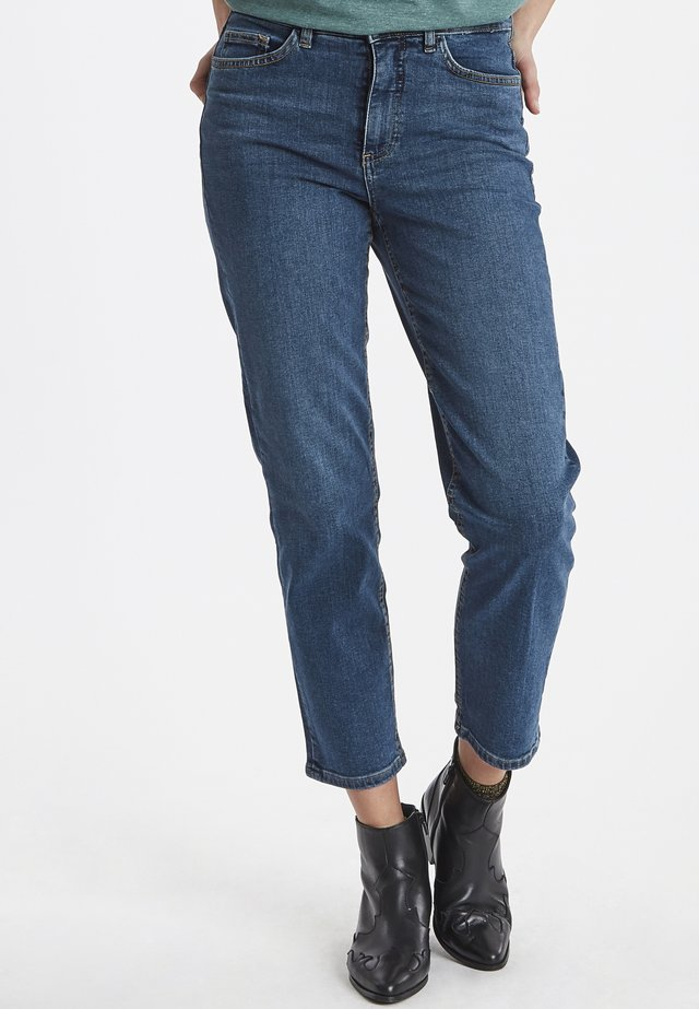 RAVEN - Jeans Straight Leg - medium blue