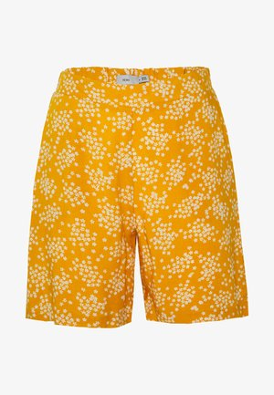 IHVERA - Shorts - golden yellow