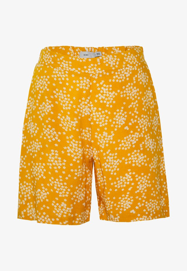 IHVERA - Shorts - golden yellow
