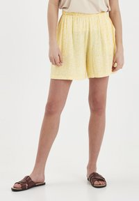 ICHI - Shorts - light yellow - 0