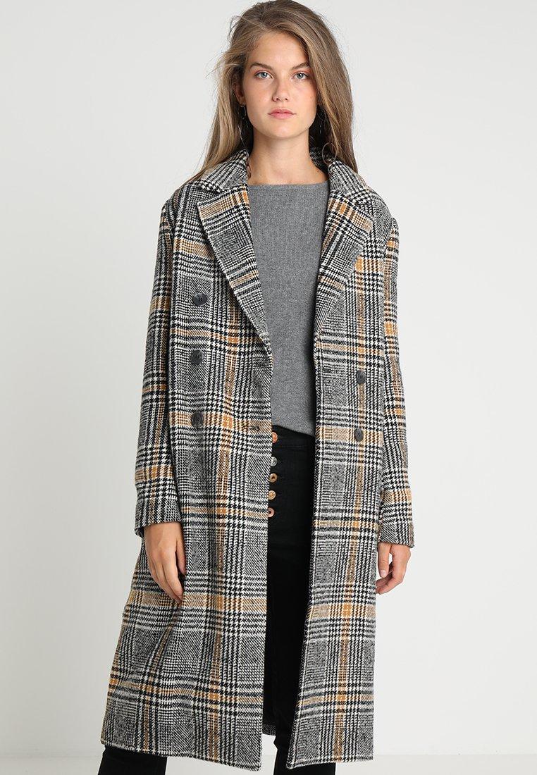 ICHI - SORBA - Płaszcz wełniany /Płaszcz klasyczny - black