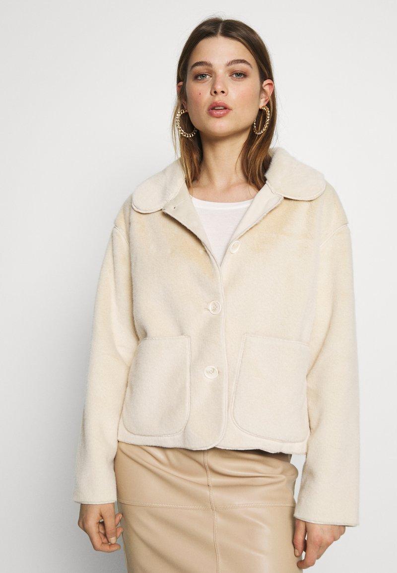 ICHI - IHFURRY - Winter jacket - tapioca