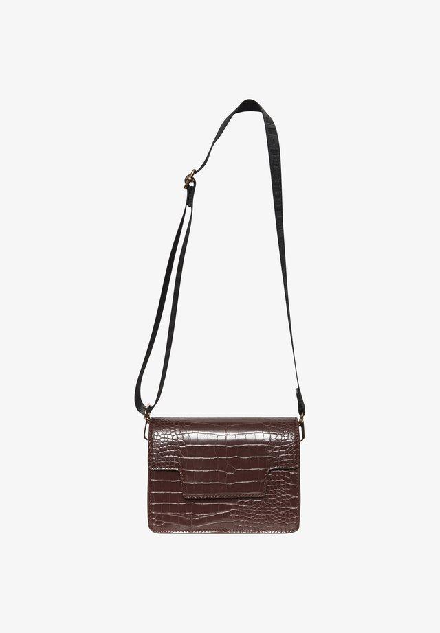 IAADELIA SHO BA - Across body bag - russet brown