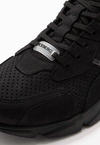 Iceberg - CITY RUN - Sneakers hoog - black - 5