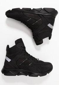 Iceberg - CITY RUN - Sneakers hoog - black - 1