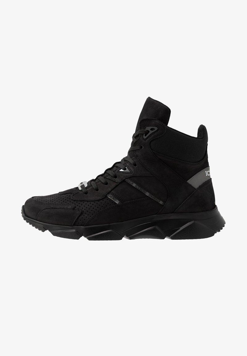 Iceberg - CITY RUN - Sneakers hoog - black