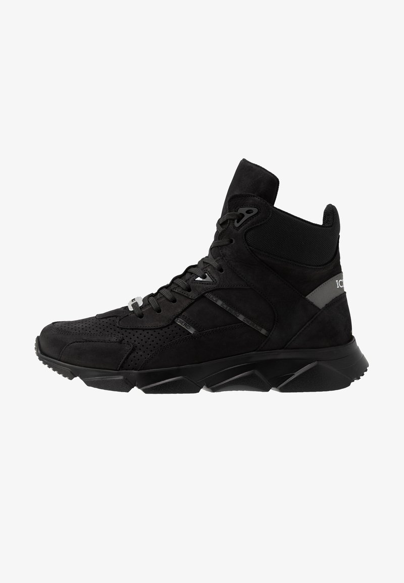 Iceberg - CITY RUN - High-top trainers - black