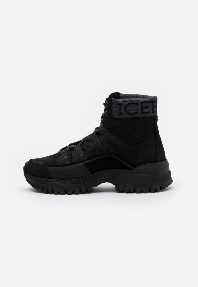 PRIMA - High-top trainers - black