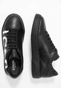 Iceberg - PHANTOM - Sneakers basse - black - 1