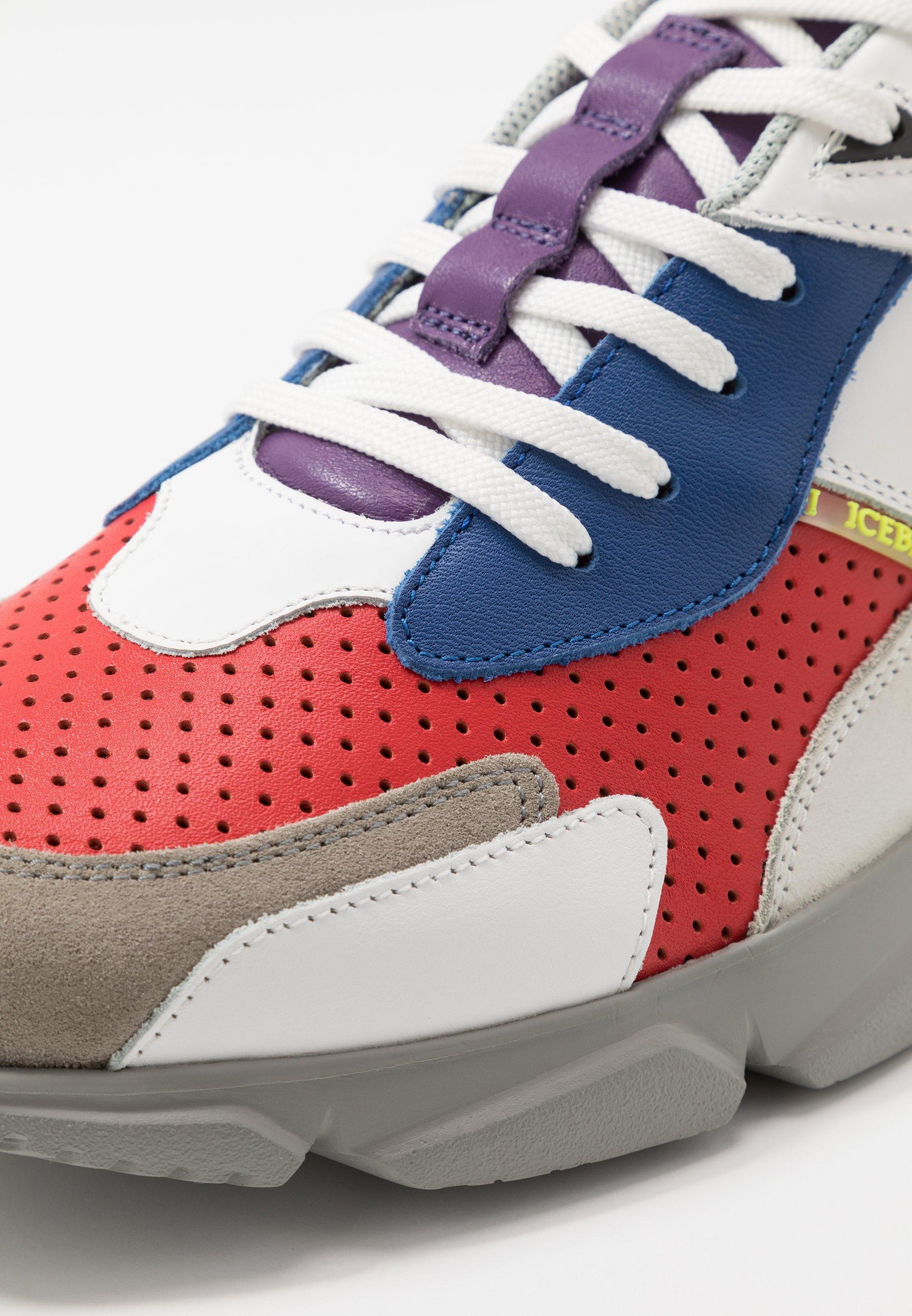 Iceberg City Run - Sneakers Basse White 4xv0Ibr