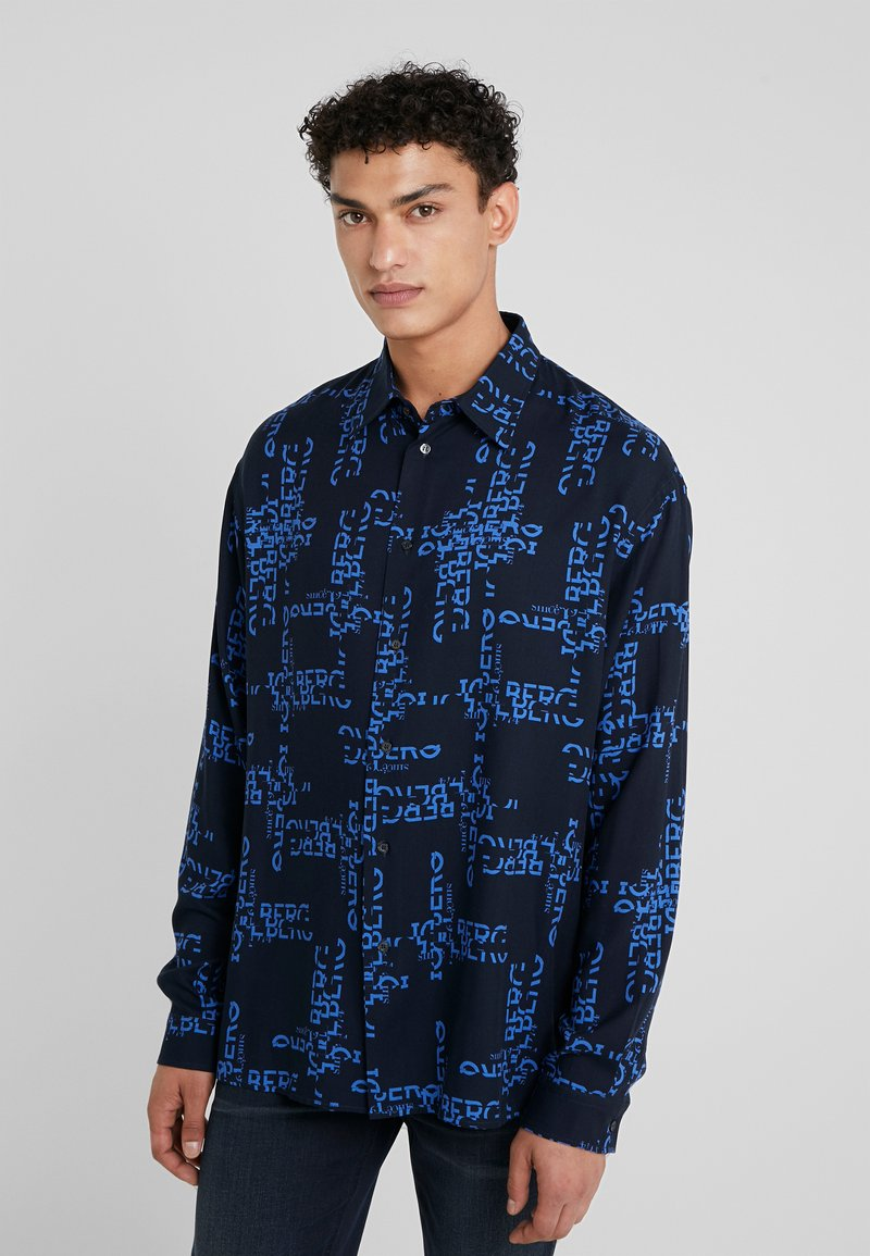 Iceberg - CAMICIA - Shirt - dark blue