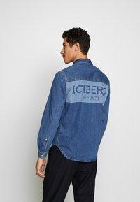 Iceberg - CAMICIA - Shirt - indaco - 2