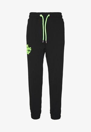 VANDAL - Pantaloni sportivi - black/green