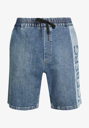 BERMUDA  - Shorts di jeans - indaco