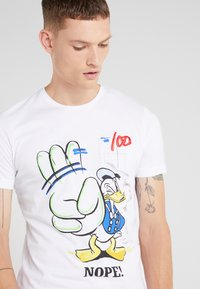 Iceberg - T-shirt imprimé - white - 4